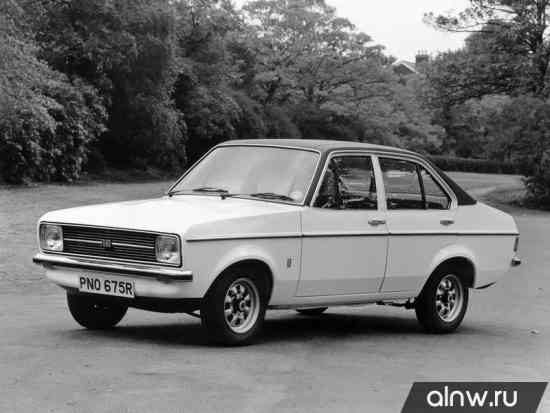 Руководство по ремонту Ford Escort II Седан