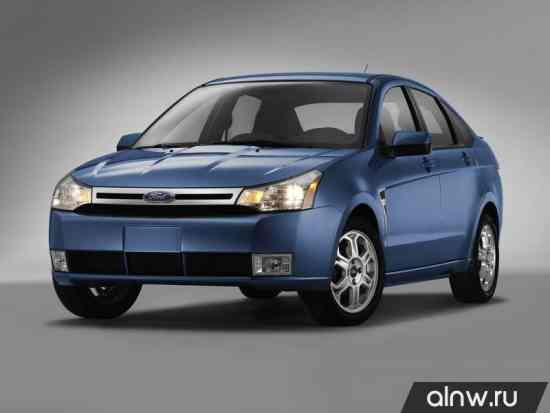 Руководство по ремонту Ford Focus II (North America) Седан