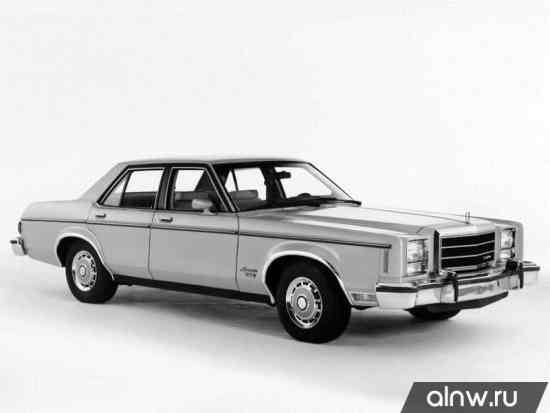 Ford Granada (North America) I Седан