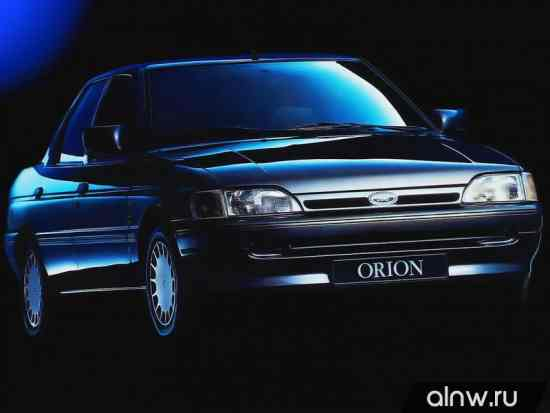 Руководство по ремонту Ford Orion III Седан