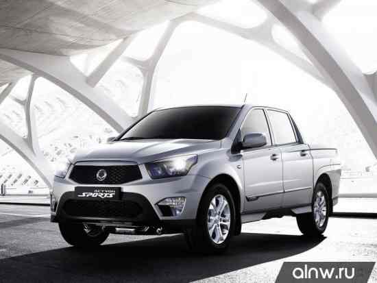 Ssang Yong Actyon Sports II Пикап Двойная кабина