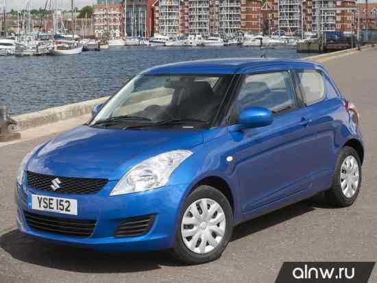Suzuki Swift V Хэтчбек 3 дв.