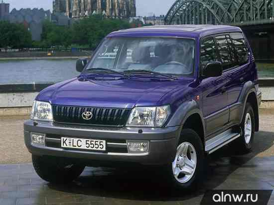 Toyota Land Cruiser Prado 90 Series Внедорожник 5 дв.